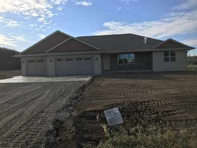 Sobieski Single Family Home For Sale: 813 Hilbert