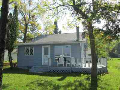 Shawano Single Family Home Active-Offer No Bump-Show: W5384 W Sandy