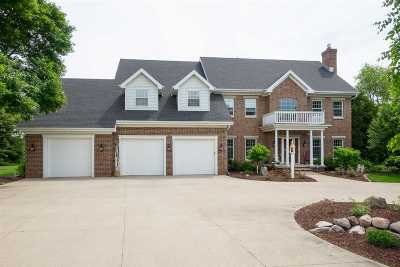 Appleton Single Family Home For Sale: W3843 Highview