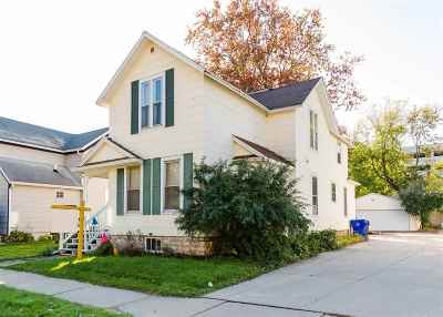 Appleton Single Family Home For Sale: 123 E Harris