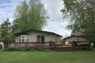 Wausaukee Single Family Home For Sale: W5563 Pines