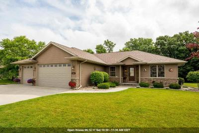 Oshkosh Single Family Home Active-No Offer: 3347 Nelson