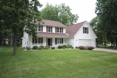 Oshkosh Single Family Home Active-Offer W/O Bump: 1747 Hunters Glen