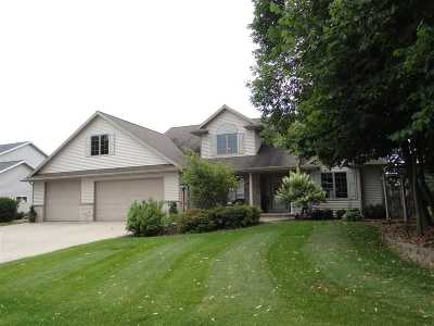 Appleton Single Family Home Active-No Offer: W5877 Easter Lily