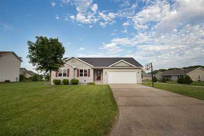 Menasha Single Family Home Active-Offer W/O Bump: N8932 Willow