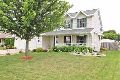 Menasha Single Family Home For Sale: 1093 Grassymeadow
