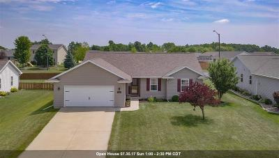 Neenah Single Family Home Active-Offer W/O Bump: 1551 Meadow Heights