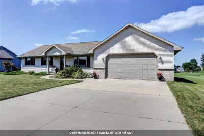 Appleton Single Family Home Active-Offer W/O Bump: N9589 Hartford