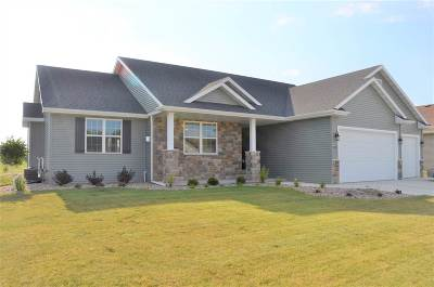 Neenah Single Family Home Active-Offer W/O Bump: 1613 Pendleton