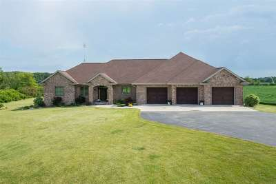 Appleton Single Family Home Active-Offer W/O Bump: W4417 Center Valley