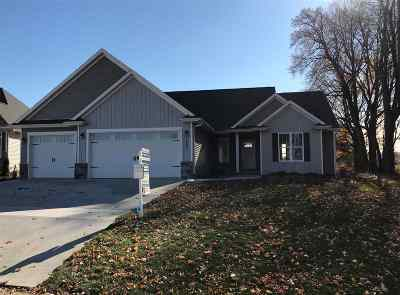 Menasha Single Family Home For Sale: 2803 Villa
