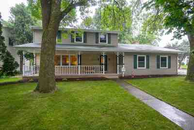Appleton WI Single Family Home Active-Offer W/O Bump: $180,000