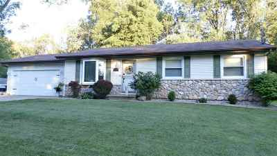 Menasha Single Family Home Active-Offer W/O Bump: 1205 Manitowoc