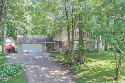 Green Bay Single Family Home Active-No Offer: 2536 Cherrywood