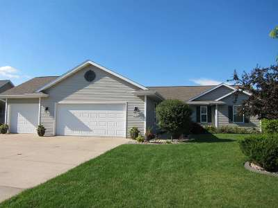 Greenville Single Family Home For Sale: W6184 Rock Island