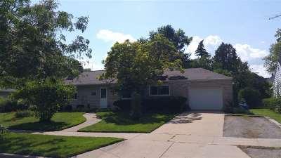 Oshkosh Single Family Home Active-No Offer: 1041 Evans
