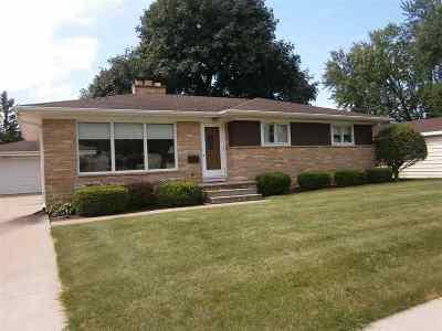 Oshkosh Single Family Home Active-Offer W/O Bump: 885 Harmel