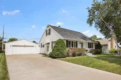 Combined Locks Single Family Home Active-Offer W/O Bump: 444 Patrick