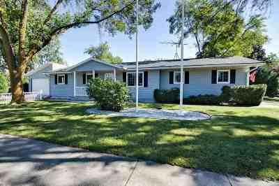 Oshkosh Single Family Home Active-No Offer: 2375 W 9th