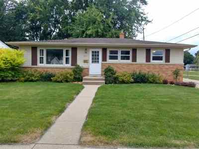 Neenah Single Family Home Active-Offer W/O Bump: 1037 Campbell