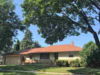 Appleton WI Single Family Home Active-No Offer: $149,900
