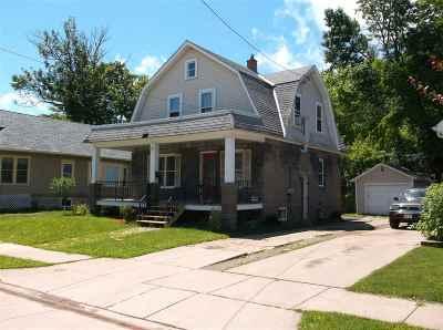 Oshkosh Single Family Home Active-No Offer: 655 Frederick
