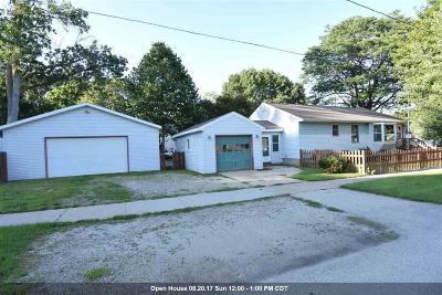 Oshkosh Single Family Home Active-No Offer: 324 Baldwin