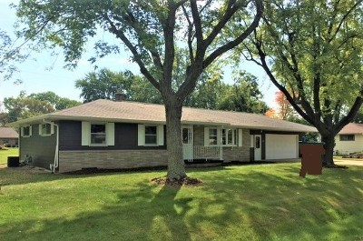 Appleton WI Single Family Home Active-No Offer: $178,000