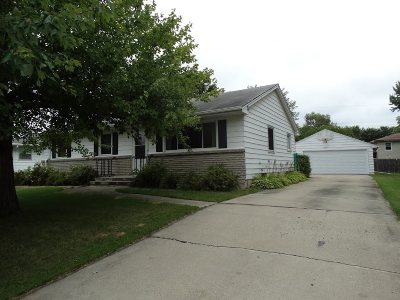 Neenah Single Family Home Active-No Offer: 1084 Melrose