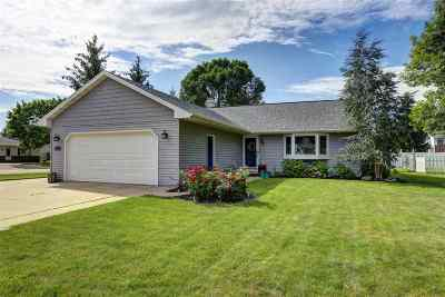 Neenah Single Family Home Active-No Offer: 653 Peppergrass