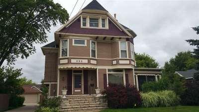 Oshkosh Single Family Home Active-No Offer: 222 E Irving
