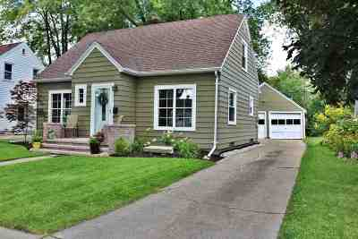 Appleton WI Single Family Home Active-No Offer: $152,900
