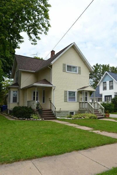 Appleton WI Multi Family Home Active-No Offer: $154,000