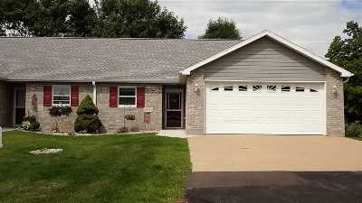 Menasha Condo/Townhouse Active-No Offer: 1688 Drum Corps #B
