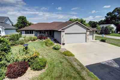 Appleton Single Family Home Active-Offer W/O Bump: W5972 Woodsedge