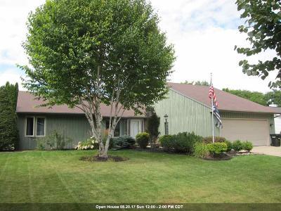 Appleton Single Family Home Active-No Offer: 3024 E Meadowlark