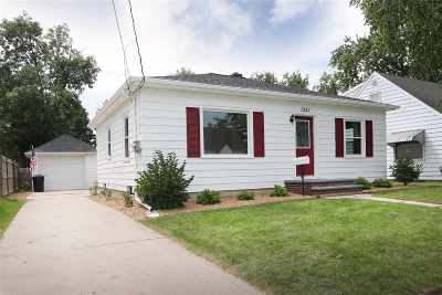 Appleton WI Single Family Home Active-No Offer: $114,900