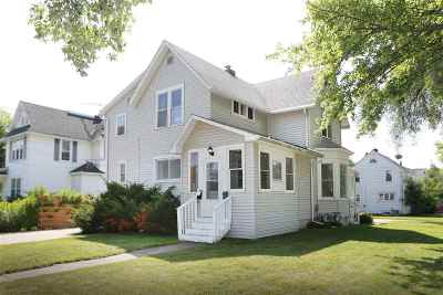 Appleton Multi Family Home Active-Offer W/O Bump: 743 W 5th
