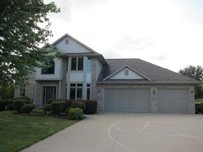 Oshkosh Single Family Home For Sale: 1741 Cottontail