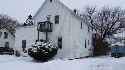 Oconto Falls Single Family Home For Sale: 227 Cherry