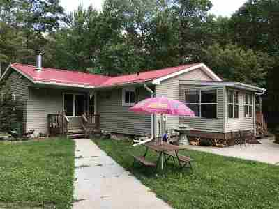 Amberg Single Family Home For Sale: N15072 Northway