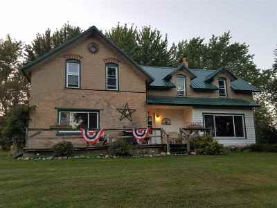 Single Family Home For Sale: W5918 Hwy 22