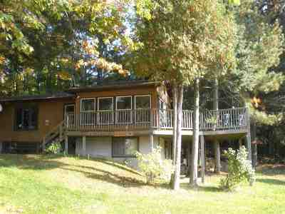 Oconto County Single Family Home Active-No Offer: 16615 Bullfrog Bend