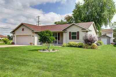 Menasha Single Family Home For Sale: N9094 Kernan