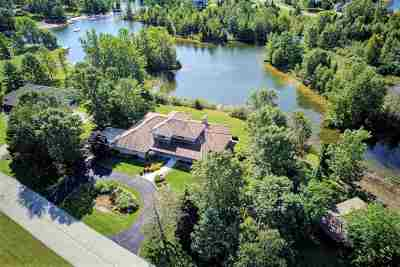 Krakow Single Family Home Active-No Offer: W175 Lake Sandia