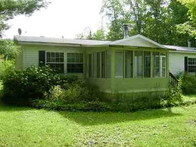 Pound Single Family Home For Sale: 13230 N White Potato Lake