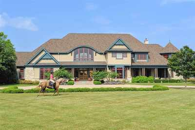 Appleton Single Family Home For Sale: W3366 Appaloosa
