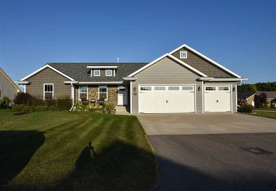 Neenah Single Family Home For Sale: 1556 Remington