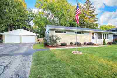 Neenah WI Single Family Home For Sale: $174,900