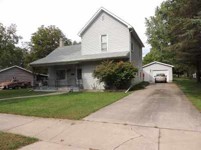Oconto Falls Single Family Home For Sale: 356 Main